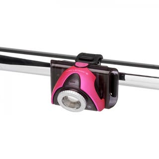SEOB3 Front Bike Light/Head Torch - Pink