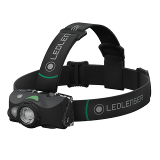 MH8 LED Head Torch - Black